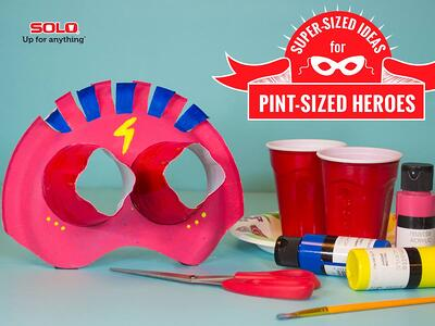 Superhero mask crafts