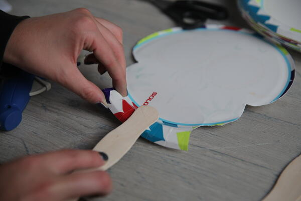 Create these Solo plate calaveras masks 3