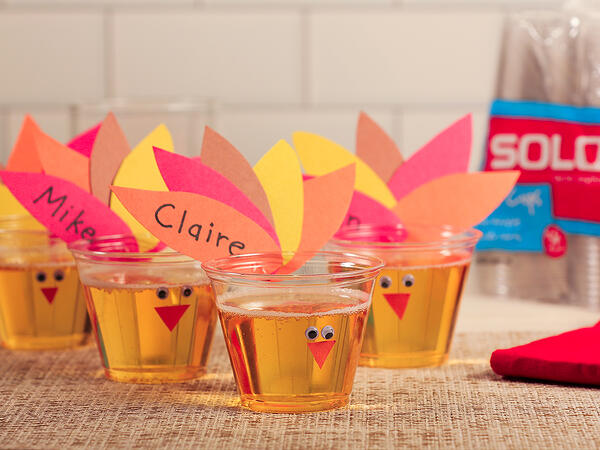DIY Turkey Craft