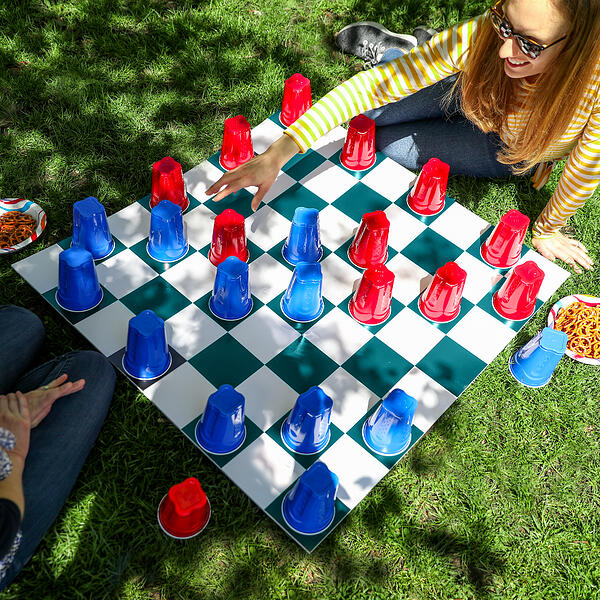 SOLO Cup Checkers