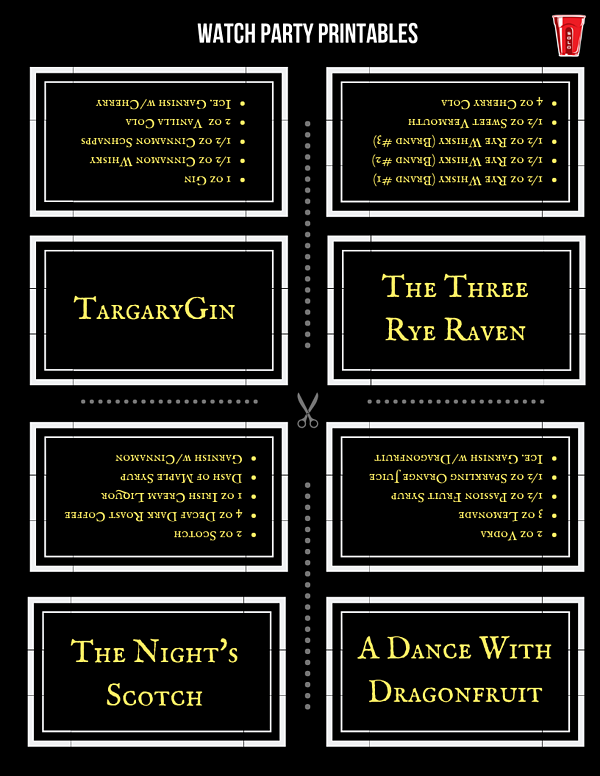 Watch Party Printables (2)