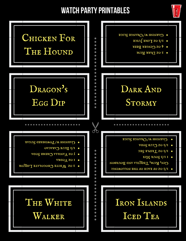 Watch Party Printables (3)