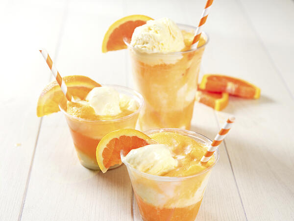 orange creamsicle floats